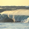 Big Surf At Sunset by Vince Cavataio - Printscapes