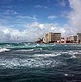 Big Surf Waikiki by Pat Purdy