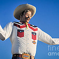 Big Tex - State Fair Of Texas - No. 2 By D. Perry Lawrence by David Perry Lawrence