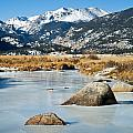 Big Thompson River Through Moraine Park In Rocky Mountain National Park by Fred Stearns