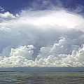 Big Thunderstorm Over The Bay by Duane McCullough