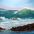 Big Wave Coming by Larry Hamilton