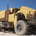 Big Wheels Not Rollin Water Truck by Scott Campbell