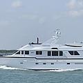 Big White Yacht by Bradford Martin