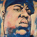 Biggie Smalls Art Painting Poster by Kim Wang