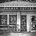 Bike At Palmer Square Book Store In Princeton by Ben and Raisa Gertsberg