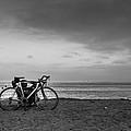 Bike Break by Lauri Novak