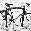 Bike In The Snow by Alice Gipson