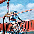Bike On The Golden Gate Bridge by Colleen Proppe