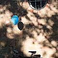 Bike With Balloon by Frank Gaertner