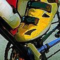Biker Boy Foot by Dale Moses