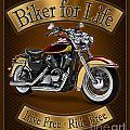 Biker For Life by JQ Licensing