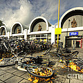 Bikes After The Storm  by Rob Hawkins