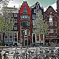 Bikes Everywhere In Amsterdam-netherlands by Ruth Hager