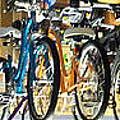 Bikes Hanging Around by Harry Tart