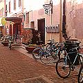 Bikes In Alley by Emily Clingman