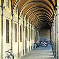 Bikes Under The Porch by Valentino Visentini