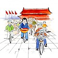Biking In China by Leah Wiedemer