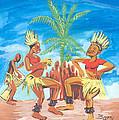 Bikutsi Dance 3 From Cameroon by Emmanuel Baliyanga