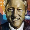 Bill Clinton by Corporate Art Task Force