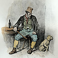 Bill Sykes And His Dog, From Charles by Frederick Barnard