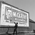 Billboard For Senator Joe Mccarthy 1948 by The Harrington Collection