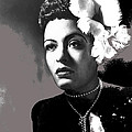 Billie Holiday Singer Song Writer No Date-2014 by David Lee Guss