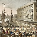 Billingsgate Fish Market, 1808 by British Library