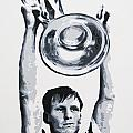 Billy Mcneill - Glasgow Celtic Fc by Geo Thomson