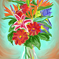 Billys Flowers by Jean Pacheco Ravinski