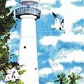 Biloxi Lighthouse by Carol Lindquist