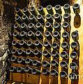 Biltmore Estate Wine Cellar -stored Wine Bottles by Luther Fine Art