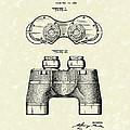 Binocular 1945 Patent Art by Prior Art Design
