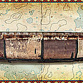 Birch Bark Canoe And Map by JQ Licensing