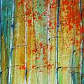 Birch Tree Forest by Jani Freimann