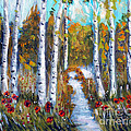 Birch Trees by To-Tam Gerwe