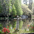 Bird Girl Of Magnolia Plantation Gardens by Suzanne Gaff