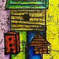 Bird House Whimsy by Tina Tieman