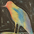 Bird In Gilded Frame Sans Frame by Tim Nyberg
