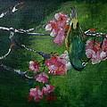 Bird N Blossom.... by Vidya Vivek