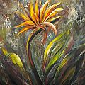 Bird Of Paradise 63 by Gina De Gorna