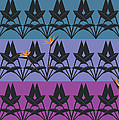 Bird Of Paradise Pattern by Marie Sansone