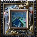 Bird Shadows - Framed by Nancy Mauerman