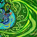 Bird Song Swirl by Genevieve Esson