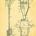 Bird Trap Cat Feeder Patent Art 1979 by Ian Monk