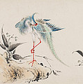 Birds And Flowers by Hua Yan