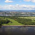 Birds Eye View Of Portland by Bob Slitzan