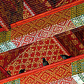 Birds In Rafters Of Royal Temple At Grand Palace Of Thailand  by Ruth Hager
