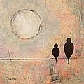 Birds On A Wire  by Jennifer Carter