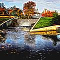 Birmingham Mi Waterfall by Melvin Busch